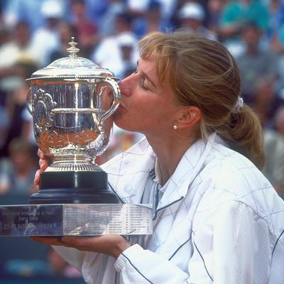 Steffi Graf Roland-Garros 1996.